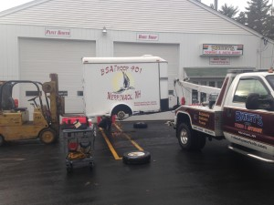 Boy Scout Trailer Repair